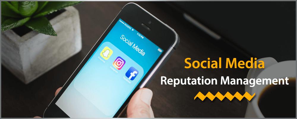 Social media reputation management