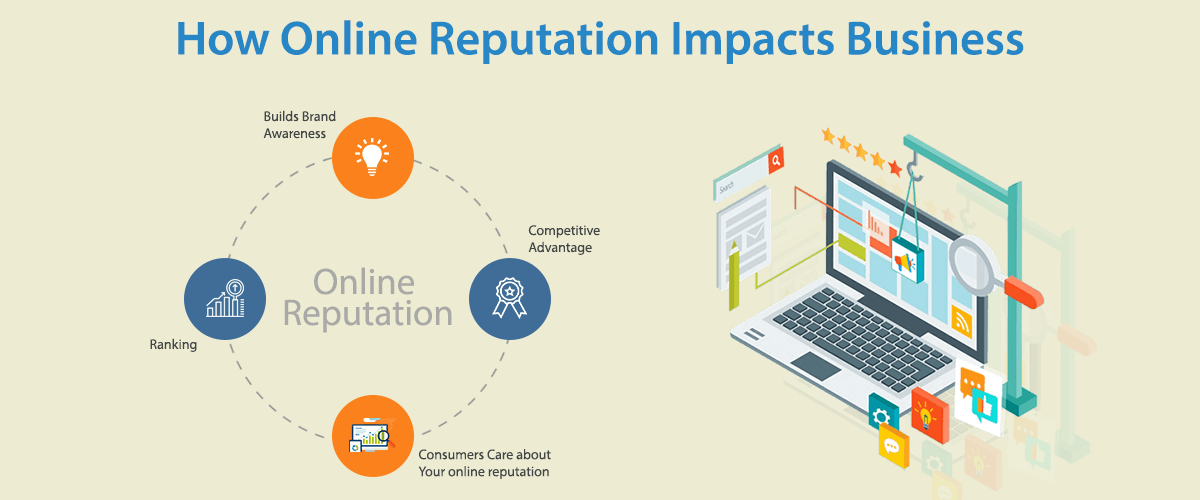 How to influence online reputation