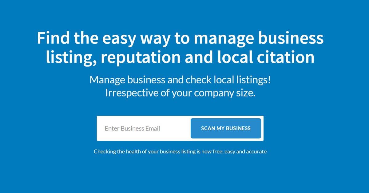 Business scanning software