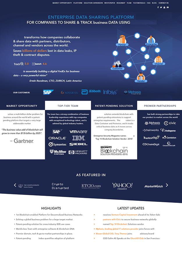 Epikso Data Share Blockchain Company Case Study