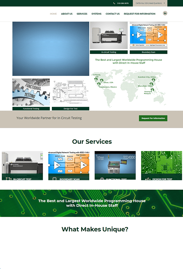 Engineered Test Solution Company Case Study