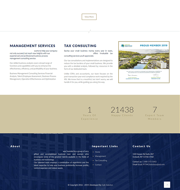 Epikso Financial Services Firm Case Study