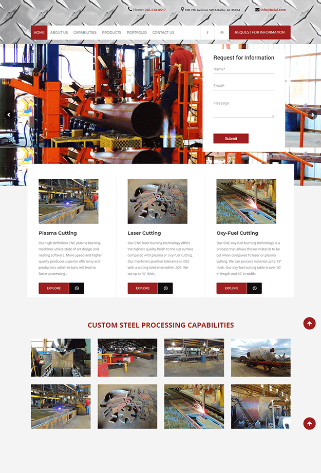 Epikso Steel Processing Company Case Study