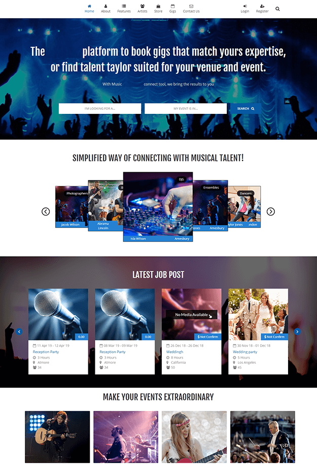 Epikso Music Entertainment Application Case Study
