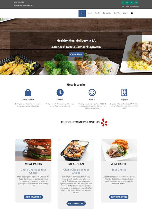 Epikso Meal Delivery Platform Case Study