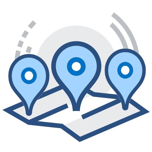 Multilocation Icon